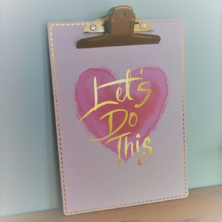 50% OFF Let's Do This Stylish Clipboard